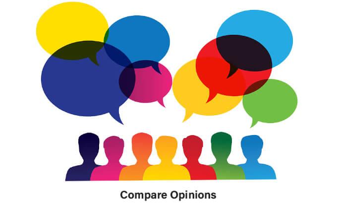 Compare Opinions