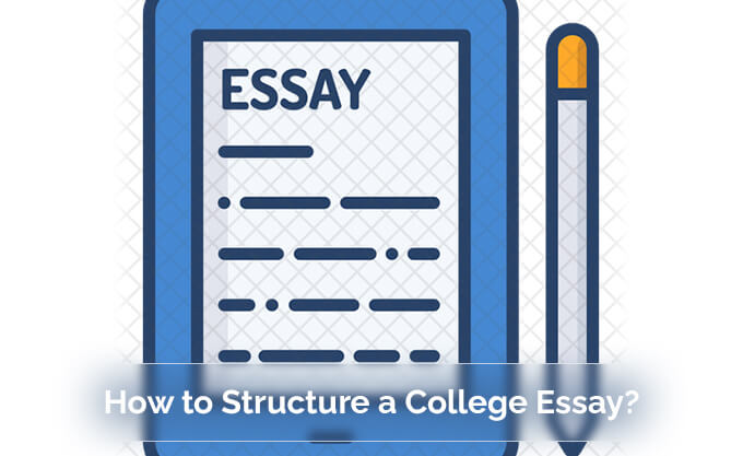 structure a college essay