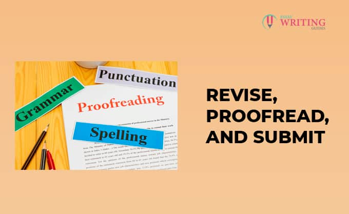 Revise, Proofread, And Submit