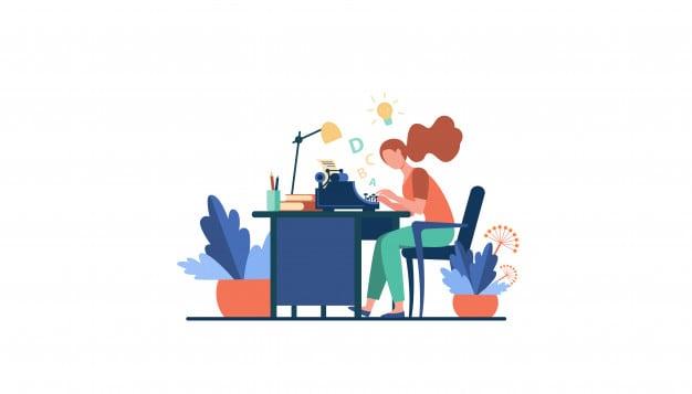 While Writing